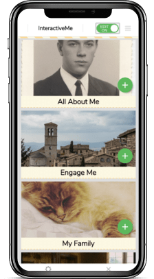 InteractiveMe app within phone